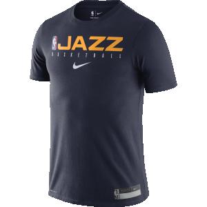 T-Shirt Man Nike 19 Practice DFC Tee Utah Jazz Navy