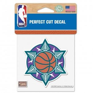 Sticker Wincraft Alternate Logo 4x4 Decal Utah Jazz