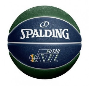 Basketball Spalding Actual JNote Custom Ball Utah Jazz Navy