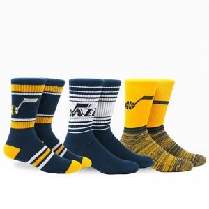 Pkwy Team 3 Pack Sock Utah Jazz