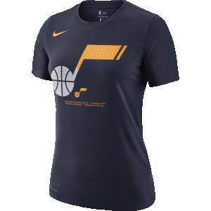 T-Shirt Woman Nike W Split Detail DFC Tee Utah Jazz