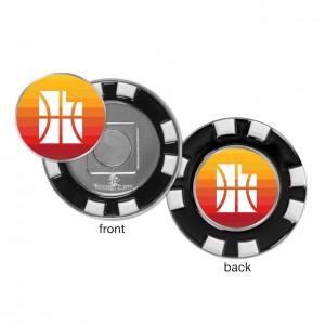 NoveltyOutdoorRecreation Wincraft Golf Chip Ball Maker Utah Jazz Black