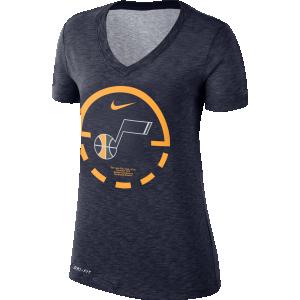 T-Shirt Woman Nike W Dry Court Lines Tee Utah Jazz