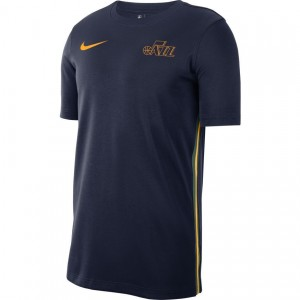 MensApparelPullovers Nike 19 DNA Top Utah Jazz