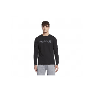 Tee-shirt Hurley One&only Push Through L/s Obsidian