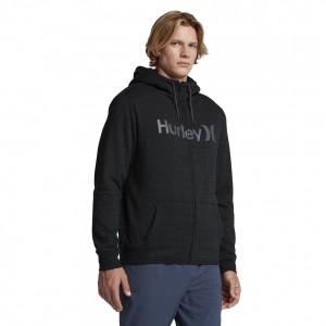 Sweat A Capuche Hurley Bayside Sherpa Black