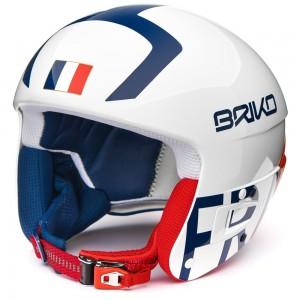 Casque De Ski Briko Vulcano Fis 6.8 France White