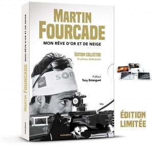 Edition limitée - Coffret Biographie Martin Fourcade - Book Mon rêve d´or et de neige