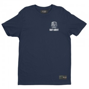Blue t-shirt logo RG27 small