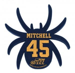 Fan Gifts & Souvenirs Rico Spider Player Foam Utah Jazz Donovan Mitchell Navy