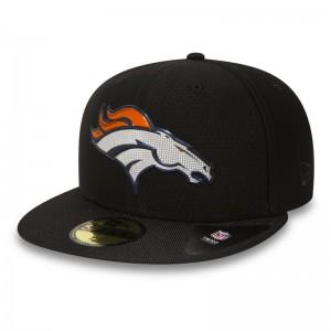 Casquette NFL Denver Broncos New Era Black collection 59Fifty Noir