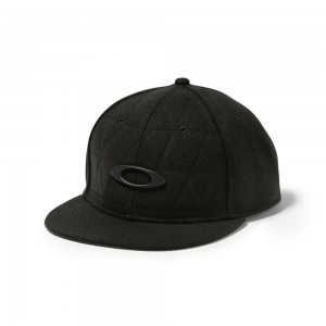 Casquette Oakley Chips Wool Hat Jet Black