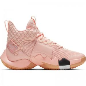 Chaussure de Basketball Jordan Why not zero 2.0 (GS) Rose pour junior