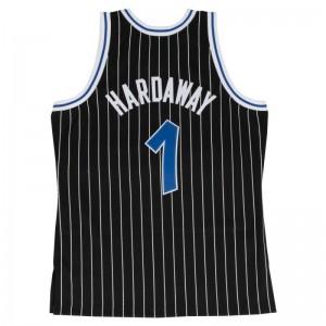 Maillot NBA swingman Anfernee Hardaway Orlando Magic 1994-95 Hardwood Classics Mitchell & Ness noir