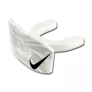 Protège dent + protège lèvre Nike Gameday Adulte Blanc