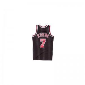 Maillot NBA Tony Kukoc Chicago Bulls 1995-96 Mitchell & Ness Hardwood Classics swingman Noir