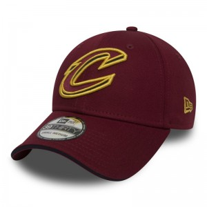 Casquette NBA Cleveland Cavaliers New Era Team 39thirty rouge