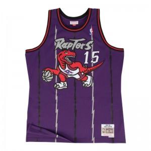 Maillot NBA swingman Vince Carter Toronto Raptors 1998-99 Hardwood Classics Mitchell & Ness Violet
