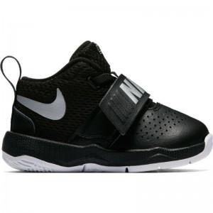 Chaussure de Basketball Nike Team Hustle D 8 ( TD ) noir pour bébé