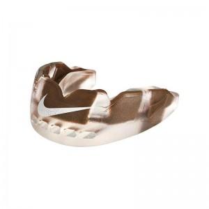 Protège dent Nike Hyperflow Adulte marron avec strap et saveur goût chocolat