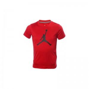 T-shirt Jordan Big Logo Rouge Pour Enfant