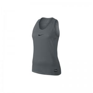 Nike Débardeur Elite pour Femme Gris