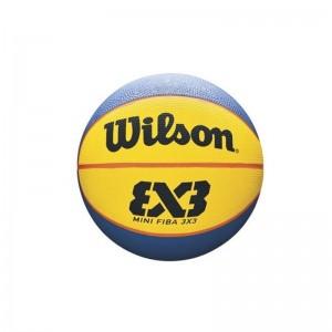 Mini Ballon Wilson 3x3 Taille 3 jaune