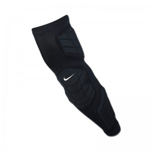 Protection Bras Nike Pro Hyperstrong Padded Arm Sleeve Noir