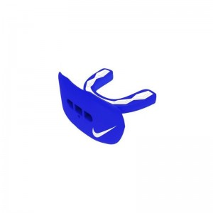 Protège dent+lèvre Nike Hyperflow Adulte avec strap et saveur Framboise Bleu