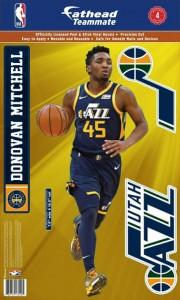 Sticker Fathead Teammates Player Sticker Set Utah Jazz Donovan Mitchell