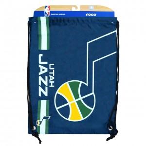 Bag Forever Collectibles Big Logo Drawstring Bag Utah Jazz Navy