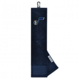 Wincraft Face Club TriFold Towel Utah Jazz Navy