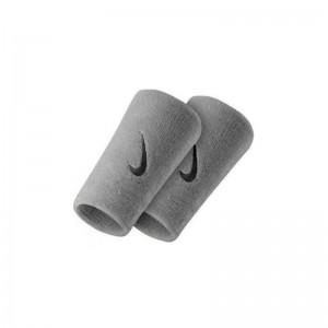 Poignets éponge Nike Doublwide Gris