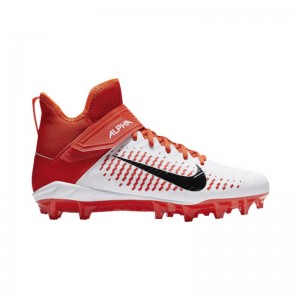 Crampons de Football Americain moulés Nike Alpha Pro Mid 2 Orange