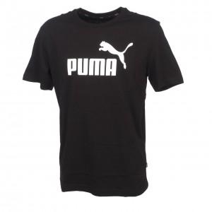 T-shirt Multisport Manches Courte Homme Puma Ess logo tee black mc