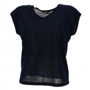 T-shirt Mode Manches Courte Femme Only Silvery nightsky mc tee l