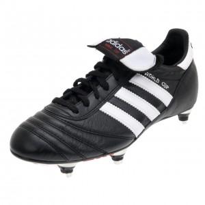 Chaussures Football Crampons Vissés Homme Adidas World cup visse cuir
