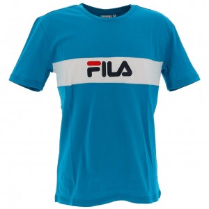 T-shirt Mode Manches Courte Homme Fila Nolan tee h bleu
