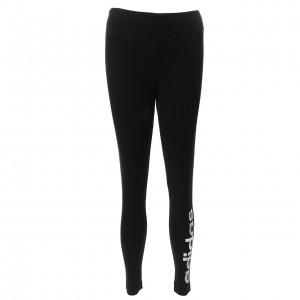 Collant Long Multisport Femme Moulant Adidas E lin tight blackwht l