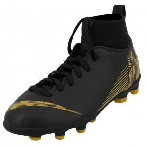 Chaussures Football Crampons Lamelles Enfant Nike Superfly 6 club mg blk jr
