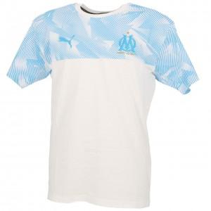 T-shirt Multisport Manches Courte Femme Puma Om casuals wht mc tee l
