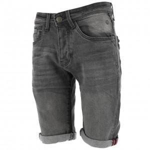 Bermuda Mode Homme Rms 26 Bermuda jeans gris strech