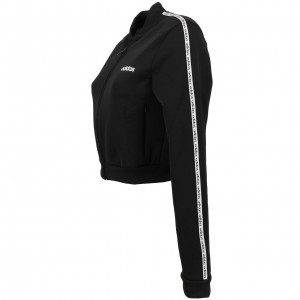 Veste Seule Survetement Multisport Femme Adidas C90 tracktop black/wht l