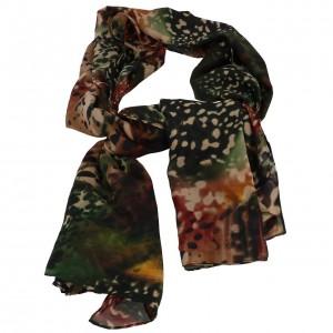Echarpe Mode Femme Pieces Hulima marron scarf