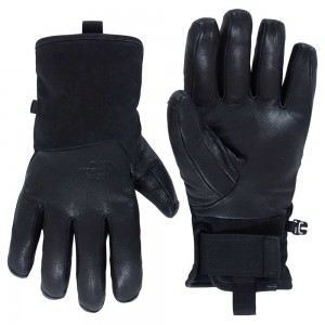 Gants The North Face Leather Ii Solo Black