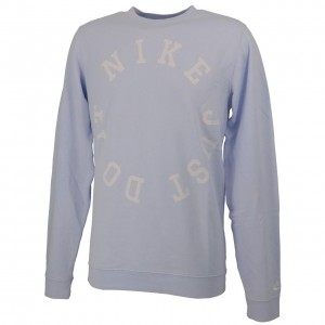Sweat Multisport Homme Col Rond Nike M nsw ce crw ft wash