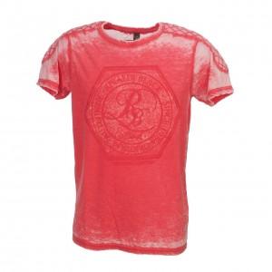 T-shirt Mode Manches Courte Homme Rivaldi Black Matino corail mel mc tee