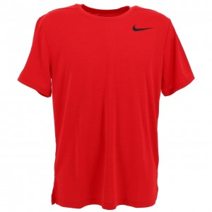 Maillot Running Homme Manches Courtes Nike Training technique rge h