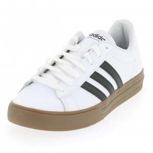 Chaussure Mode Ville Basse Homme Adidas Daily   blc nr crepe