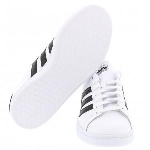 Chaussure Mode Ville Basse Homme Adidas Grand court w blanc nr